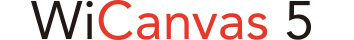 WiCanvas5ロゴ