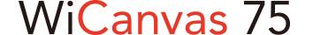 WiCanvas75ロゴ
