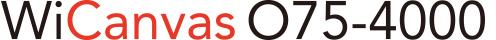 WiCanvasO75-4000ロゴ